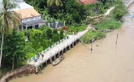 Sạt lở nghiêm trọng bủa vây Đồng bằng sông Cửu Long
