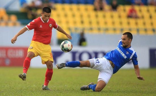 [KT] Hồng Lĩnh Hà Tĩnh 2 - 3 Than Quảng Ninh: Chiến thắng xứng đáng cho đội khách