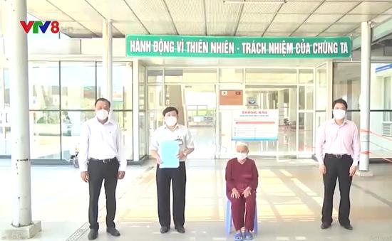 Bệnh nhân Covid-19 lớn tuối nhất Việt Nam đã xuất viện