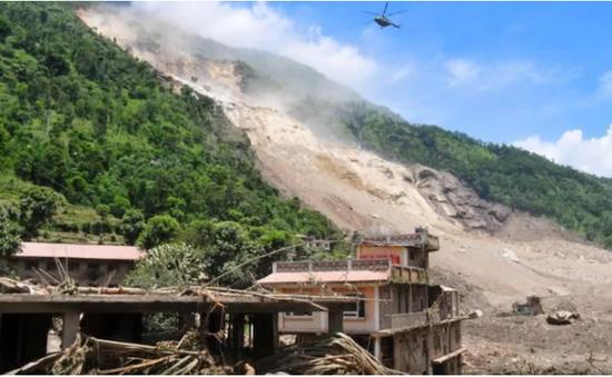 Lở đất nghiêm trọng tại Nepal, ít nhất 11 người thiệt mạng