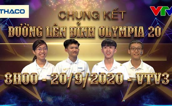 4 gương mặt vàng vào Chung kết: Ai sẽ đăng quang Quán quân Đường lên đỉnh Olympia 2020?