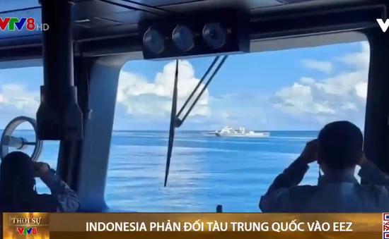 Indonesia trao công hàm phản đối tàu Trung Quốc vào EEZ (Vùng đặc quyền kinh tế)