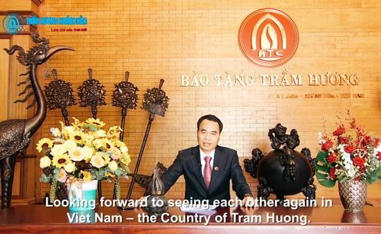 Trầm Hương Khánh Hòa là đại diện của Việt Nam tại diễn đàn Liên minh Lãnh đạo Thế giới