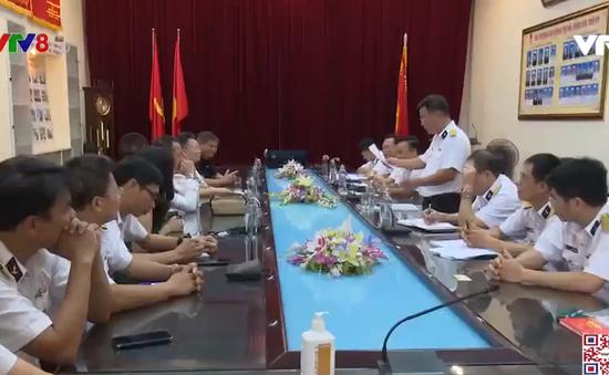 Cục Chính trị Hải quân và VTV8 tăng cường phối hợp tuyên truyền biển, đảo