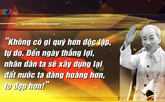 Khát vọng về đất nước Việt Nam cường thịnh, giàu mạnh của Chủ tịch Hồ Chí Minh