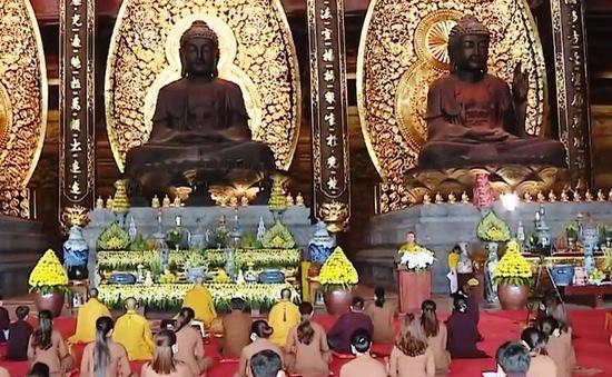 Lễ Vu lan báo hiếu 2020 tại chùa Tam Chúc được tổ chức trực tuyến