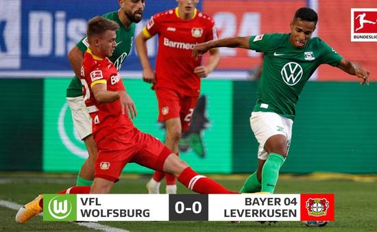 KẾT QUẢ Wolfsburg 0-0 Bayer Leverkusen: Chia điểm nhạt nhoà
