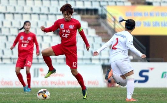 Hà Nội 1 Watabe thắng đậm lượt trận khai mạc Giải bóng đá nữ VĐQG cúp Thái Sơn Bắc 2020