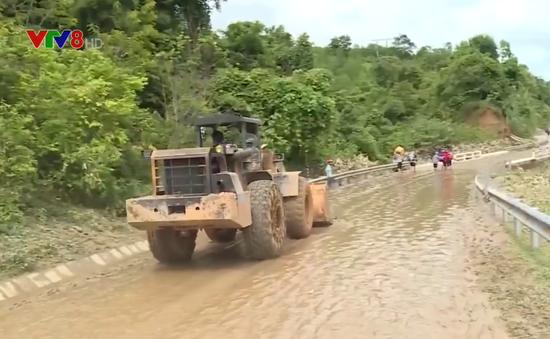 Nghệ An: Khắc phục tình trạng sạt lở núi