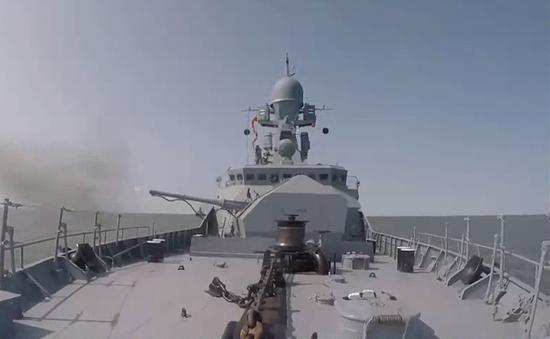 Hạm đội biển Caspi biểu dương sức mạnh tại cuộc tập trận Kavkaz-2020