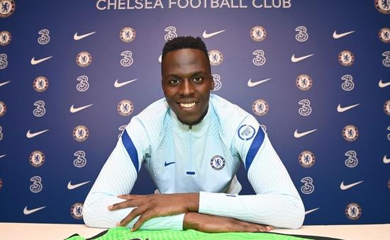 Edouard Mendy chính thức cập bến Chelsea