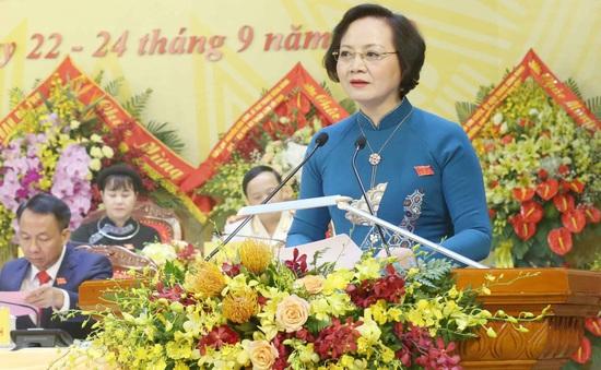 Nữ Bí thư Tỉnh ủy Yên Bái được điều động giữ chức Thứ trưởng Bộ Nội vụ