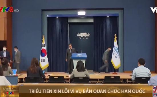 Chủ tịch Triều Tiên Kim Jong-un xin lỗi vì vụ bắn quan chức Hàn Quốc