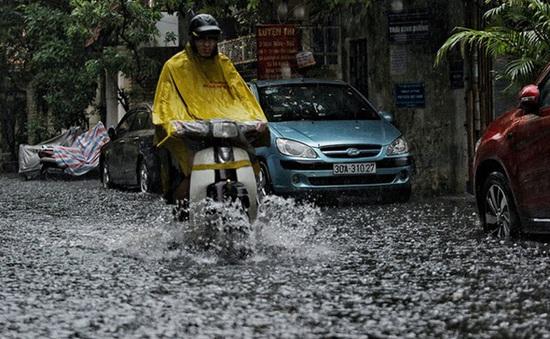 Hôm nay dự báo có nơi mưa to đến rất to