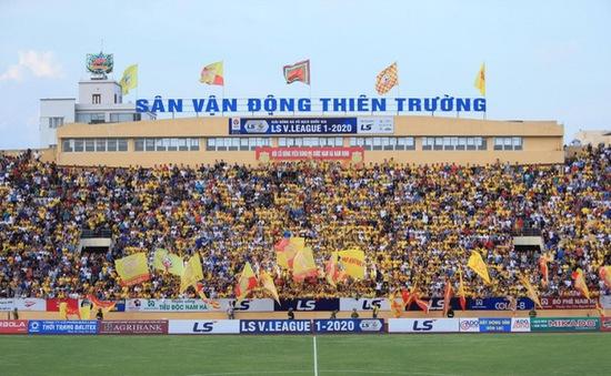 Sân Thiên Trường đón tin vui trước trận cầu với SHB Đà Nẵng
