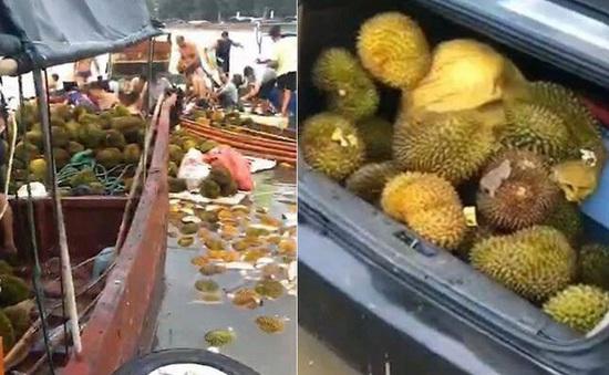 Trung Quốc: Ngộ độc tập thể vì ăn sầu riêng ngấm nước biển