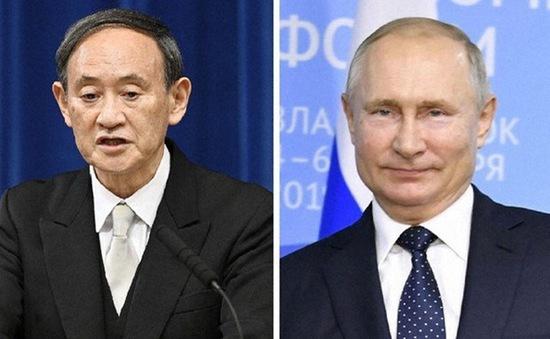 Lãnh đạo Nhật Bản - Nga lần đầu điện đàm, thảo luận về các vấn đề tồn đọng