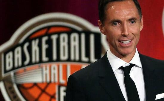 Brooklyn Nets chính thức bổ nhiệm Steve Nash làm tân HLV trưởng
