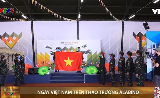 Ngày Việt Nam trên thao trường Alabino ở Nga