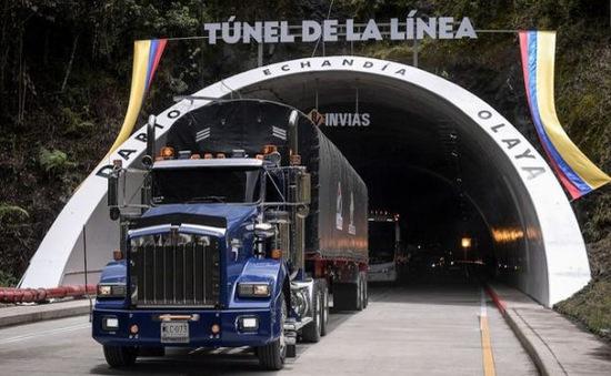 Khánh thành đường hầm dài nhất Mỹ Latin