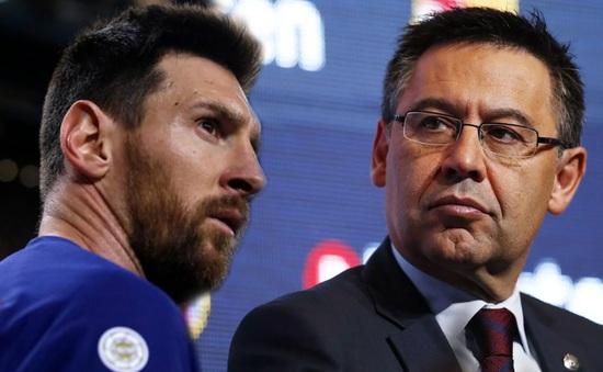 Messi công khai chỉ trích chủ tịch Barcelona