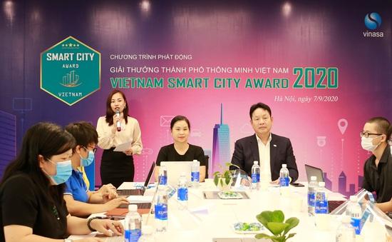 Phát động Giải thưởng Thành phố thông minh Việt Nam 2020