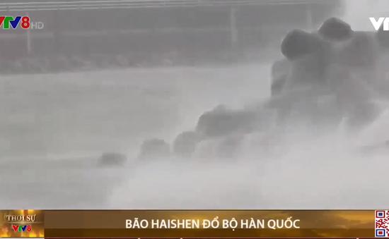 Bão Haishen đổ bộ Hàn Quốc