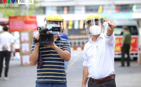 VTV8 trong tâm dịch Đà Nẵng