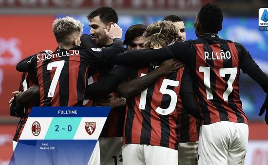 AC Milan 2-0 Torino: Ibrahimovic dự bị, AC Milan giành trọn 3 điểm