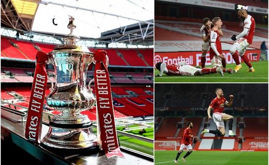 Arsenal và Man Utd vào vòng 4 FA Cup
