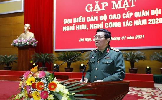 Bộ Quốc phòng gặp mặt cán bộ cao cấp Quân đội nghỉ hưu, nghỉ công tác