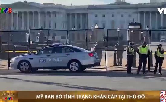 Mỹ ban bố tình trạng khẩn cấp tại thủ đô Washington