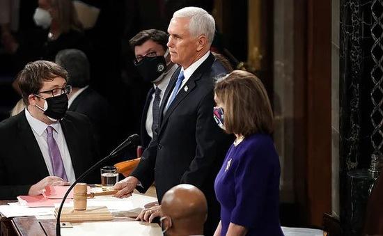 Phó tổng thống Mỹ Pence bác bỏ phế truất Tổng thống Donald Trump