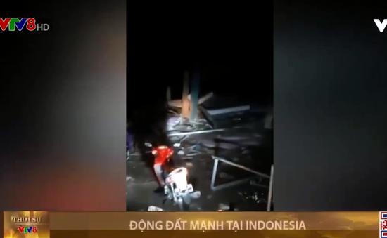 Động đất rung chuyển đảo Indonesia
