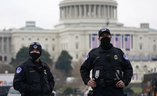 Mỹ bắt đối tượng mang súng và hơn 500 viên đạn gần Đồi Capitol