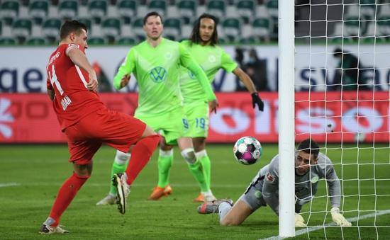 Wolfsburg 2-2 RB Leipzig: Chia điểm kịch tính (Vòng 16 Bundesliga 2020/21)