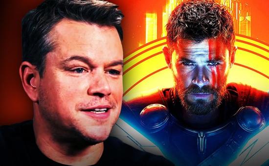 """""""Thần sấm Thor"""" sẽ có thêm Matt Damon?"""