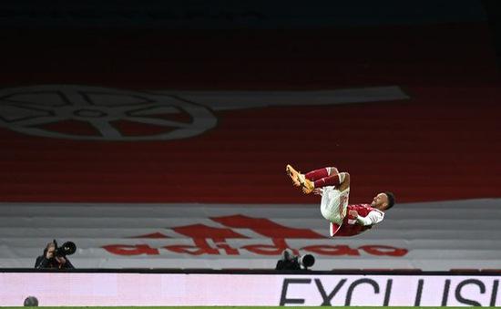 HLV Arteta lên tiếng về nỗi lo Aubameyang gặp chấn thương trong trận gặp Newcastle