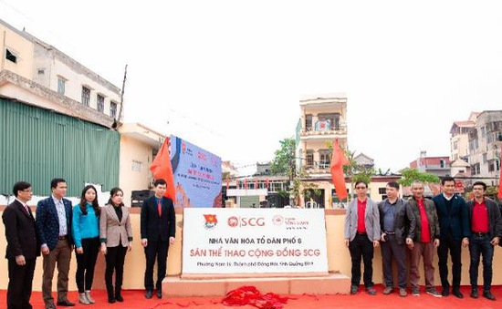 Khánh thành sân thể thao cộng đồng kiểu mẫu tại tỉnh Quảng Bình