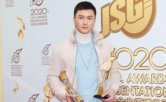 Vương Hạo Tín lại bị chỉ trích khi không cảm ơn vợ trong bài phát biểu nhận giải mới