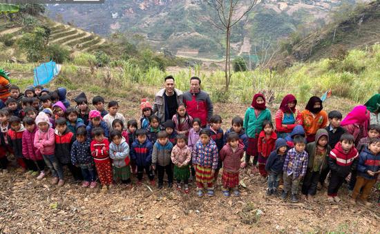 Tết nhân ái tới trẻ em vùng cao tỉnh Hà Giang