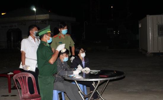 Phát hiện, ngăn chặn 6 người nhập cảnh trái phép từ Campuchia bằng đường biển