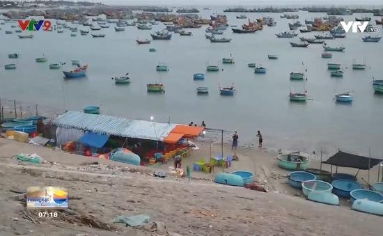 Cảnh báo tình trạng bán hải sản gian lận ở làng chài Mũi Né, Phan Thiết.