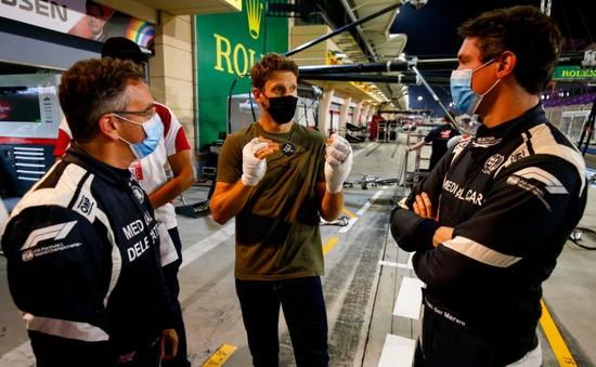 Romain Grosjean hi vọng sẽ tiếp tục tranh tài ở mùa giải 2021