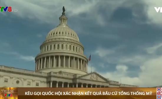 Thượng nghị sĩ hai đảng kêu gọi quốc hội chứng nhận kết quả bầu cử tổng thống Mỹ