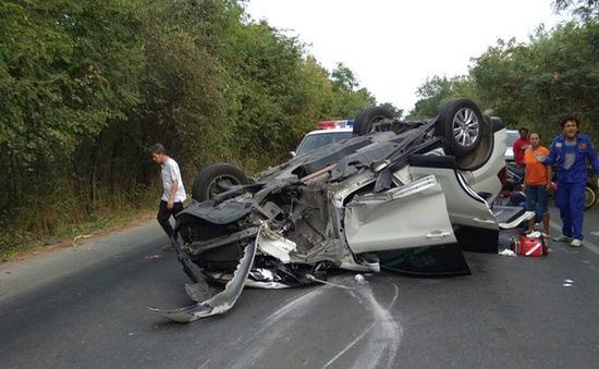 Gia tăng tai nạn giao thông tại Thái Lan do vượt tốc độ và rượu bia
