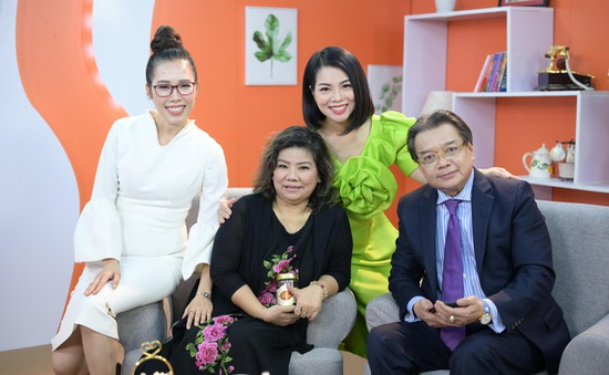 """MC Bạch Dương trở lại với chương trình """"Trà chiều tâm giao"""""""