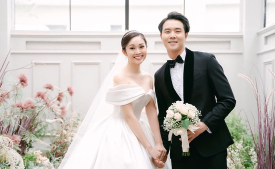 Ảnh cưới tuyệt đẹp của MC Thùy Linh và chồng kém 5 tuổi Hiếu Su