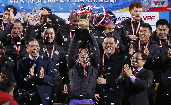 Thắng CLB Viettel, CLB Hà Nội giành Siêu cúp Quốc gia