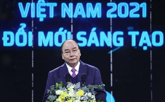 Thủ tướng Nguyễn Xuân Phúc: Không đổi mới sáng tạo sẽ mắc kẹt trong hố năng suất thấp